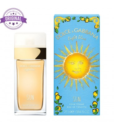 Оригинал Dolce & Gabbana LIGHT BLUE SUN For Women