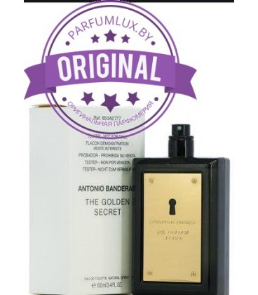 Оригинал Antonio Banderas THE GOLDEN SECRET for Men