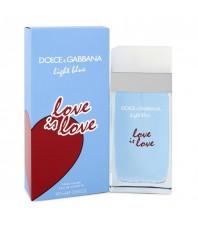 Оригинал Dolce & Gabbana Light Blue Love Is Love
