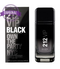 Оригинал Carolina Herrera 212 VIP BLACK for Men