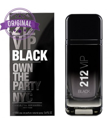 Оригинал Carolina Herrera 212 VIP BLACK for Men