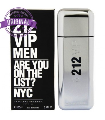 Оригинал Carolina Herrera 212 VIP MEN for Men