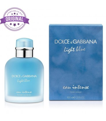 Оригинал Dolce & Gabbana LIGHT BLUE EAU INTENSE for Men