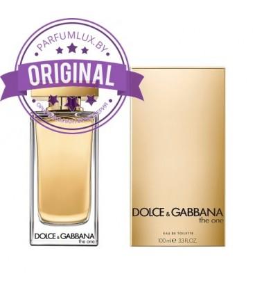 Оригинал Dolce & Gabbana THE ONE Eau de Toilette for Women