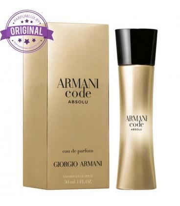 Оригинал Giorgio Armani CODE Absolu for Women