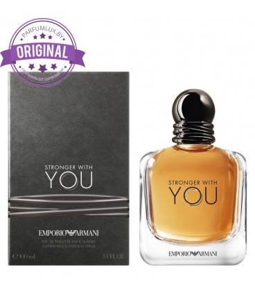 Оригинал Giorgio Armani STRONGER WITH YOU for Men
