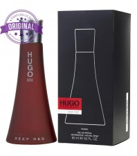 Оригинал Hugo Boss DEEP RED For Women