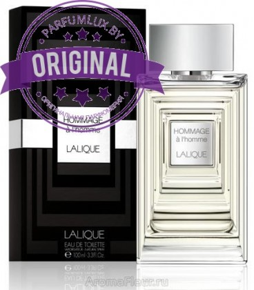 Оригинал Lalique HOMMAGE A L`HOMME For Men
