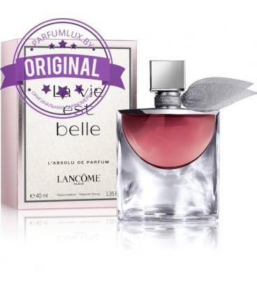 Оригинал Lancome LA VIE EST BELLE L`ABSOLU de Parfum For Women