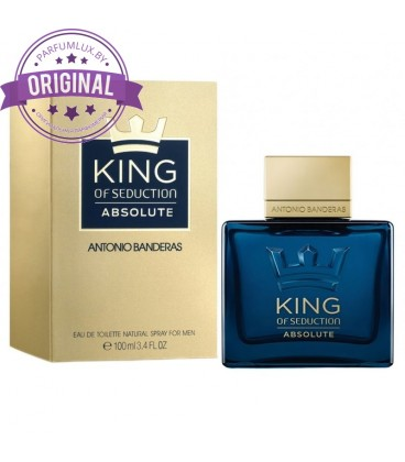 Оригинал Antonio Banderas KING OF SEDUCTION ABSOLUTE for Men