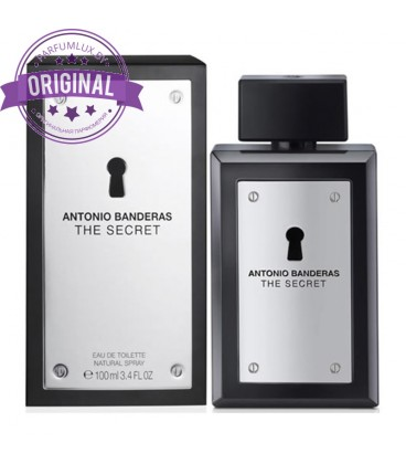 Оригинал Antonio Banderas THE SECRET for Men