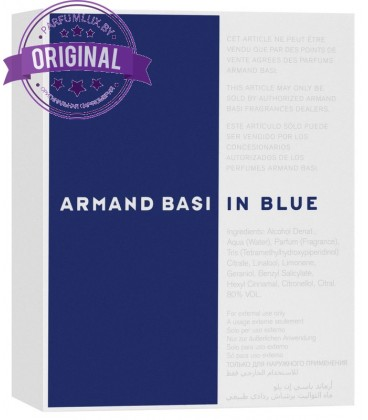 Оригинал Armand Basi IN BLUE for Men